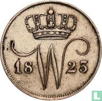 Netherlands 10 cent 1823