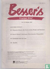 Besser's Gourmet Brief 10