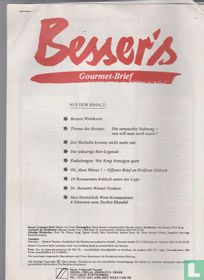 Besser's Gourmet Brief 8