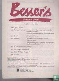 Besser's Gourmet Brief 18