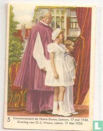 Kroning van O.L.-Vrouw, Laken. 17 mei 1936.