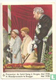 H. Bloedprocessie te Brugge. Mei 1938