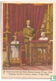 Kroning van O.-L.-Vrouw, Laken. 17 mei 1936