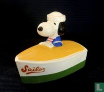 Snoopy in Boat Sailor (Vehicle series)