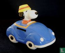Snoopy in Blue Convertible (Vehicle Series)