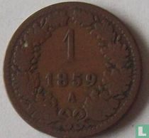 Austria 1 kreuzer 1859 (A)