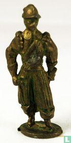 Musketier Spaans (groen)