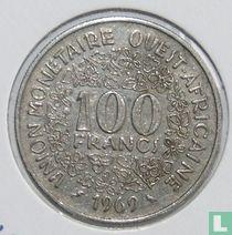 West-Afrikaanse Staten 100 francs 1969