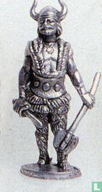Viking met bijl (ijzer)