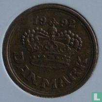 Denemarken 25 øre 1992
