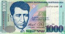 Armenië 1000 Dram 1999