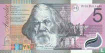 Australië 5 Dollars 2001