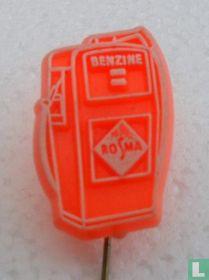 Benzine Rosma [oranje grote uitvoering]