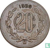 Mexico 20 centavos 1920
