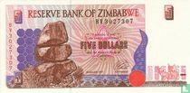 Zimbabwe 5 Dollars 1997