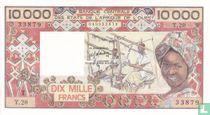 West Afr. States 10.000 Francs