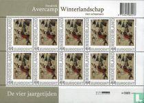 Hendrik Avercamp - Winterlandschap