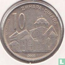 Servië 10 dinara 2005