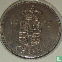 Denemarken 1 krone 1973