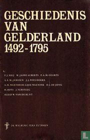 Geschiedenis van Gelderland 1492 - 1795