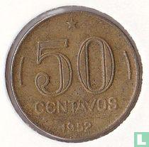 Brazilië 50 centavos 1952
