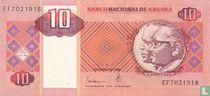 Angola 10 Kwanzas 1999
