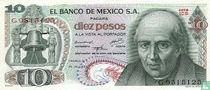 Mexico 10 Pesos