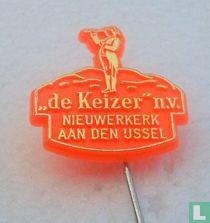"""""""de Keizer"""" n.v. Nieuwerkerk aan den IJssel [orange]"""