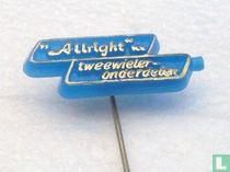 Allright n.v. Tweewieler-onderdelen [blauw]