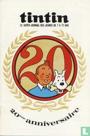 Tintin 20ème anniversaire
