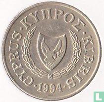 Cyprus 20 cents 1994