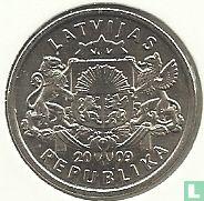 """Letland 1 lats 2009 """"Namejs ring"""""""