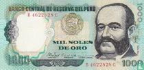 Peru 1000 Soles de Oro