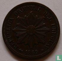 Uruguay 2 centésimos 1869 (A)