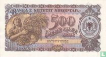 Albanië 500 Lekë 1957