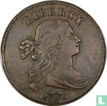 Verenigde Staten 1 cent 1798 (haarstijl 1)