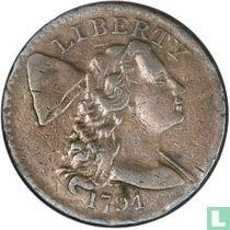 """Verenigde Staten 1 cent 1794 """"Head of 1794"""""""