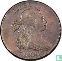 Verenigde Staten 1 cent 1800 over 1798