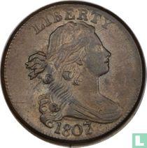 Verenigde Staten 1 cent grote 7 over 6