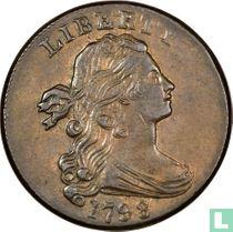 Verenigde Staten 1 cent 1798 (haarstijl 2)