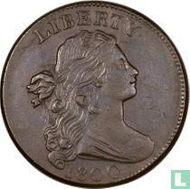 Verenigde staten 1 cent 1800