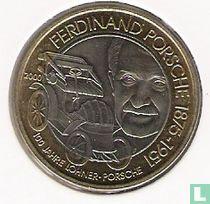 """Austria 50 schilling 2000 """"125th anniversary Birth of Ferdinand Porsche"""""""