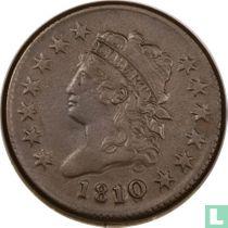 Verenigde Staten 1 cent 1810