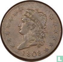 Verenigde Staten 1 cent 1808