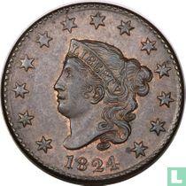 Verenigde Staten 1 cent 1824