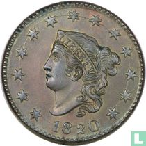 Verenigde Staten 1 cent 1820 (large date)