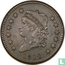 Verenigde Staten 1 cent 1812 small date