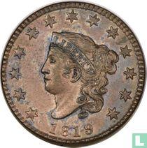 Verenigde Staten 1 cent 1819 (small date)