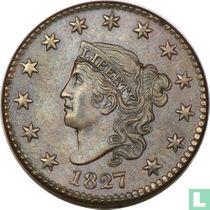Verenigde Staten 1 cent 1827
