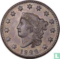 Verenigde Staten 1 cent 1822